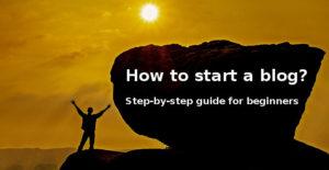Guide for beginners for online blogging