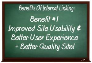 Benefits of internal linking