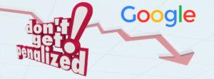 Avoiding Google penalties for websites