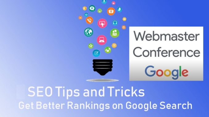 SEO tips for better Google rankings