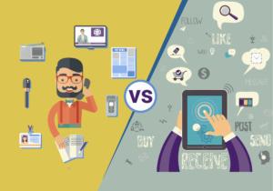 Digital Marketing vs. Traditional Marketing